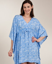 Treasures of Bali Blue Opal Cover up Tunic