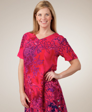 Magenta Magic Short Sleeve Dress