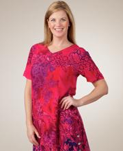 Magenta Magic Short Sleeve Dress