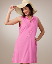 La Cera Bubblegum Pink Cover Up