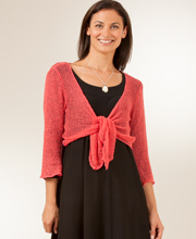 Eagle Ray Traders Coral Shrug