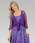 Eagle Ray Traders Purple Shrug