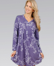 Karen Neuburger Purple Nightshirt