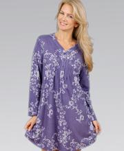 Karen Neuburger Purple Nightshirt