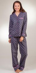 Flannel-Pajamas-KayAnna-Castle-Grey-F15243-B