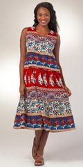 Sleeveless-Cotton-Dress-La-Cera-Pepper-Paisley-2201-313-B