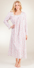 Eileen-West-Long-Sleeve-Cotton-Nighgown-Rouge-Blossom-E5416105-628-B