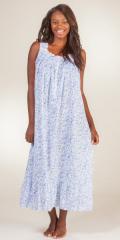 Eileen-West-Sleeveless-Long-Cotton-Nightgown-Villa-Rose-E5216118-143-B