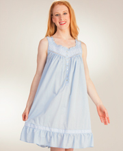 Eileen-West-Short-Sleeveless-Cotton-Nightgown-Sky-Concerto-E5316032-419-A