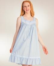 Eileen-West-Short-Sleeveless-Cotton-Nightgown-Sky-Concerto-E5316032-419-A