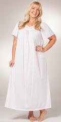 Plus-Long-Petals-Nightgown-Shadowline-Pink-32280X-B