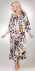 Long-Sleeve-Kaftan-Dress-Natori-Deco-Blooms-ZC0119-B