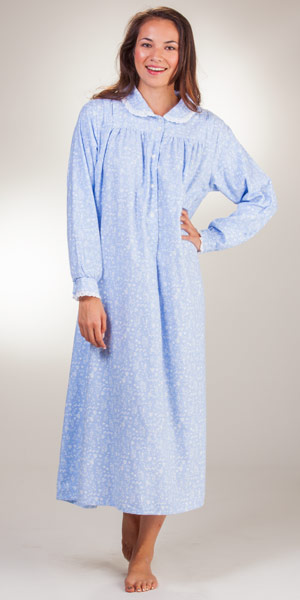 5a35351dc8 Famous Flannel Nightgowns by Lanz of Salzburg - Serene Comfort