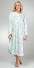 Long-Brushed-Back-Satin-Nightgown-Miss-Elaine-Aqua-Floral-516149-164-B